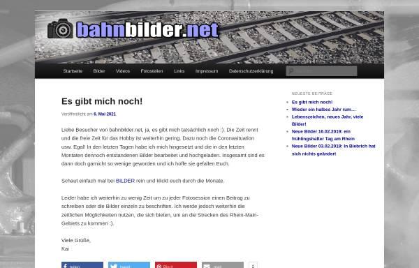 Vorschau von www.bahnbilder.net, Bahnbilder.net