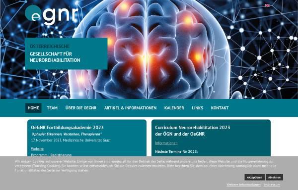 Vorschau von www.neuroreha.at, Österreichische Gesellschaft für Neurorehabilitation