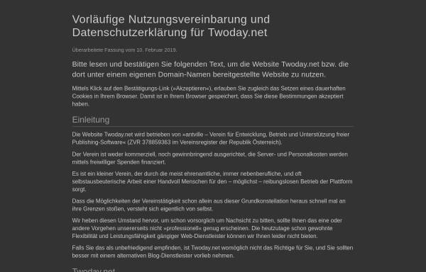 Vorschau von companice.twoday.net, Companice - No More Bullshit Marketing