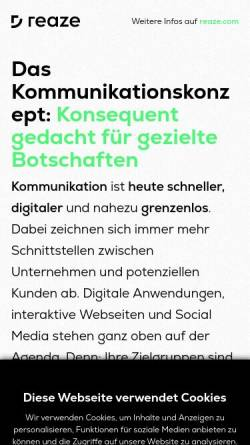 Vorschau der mobilen Webseite conception-blog.com, Conception Blog