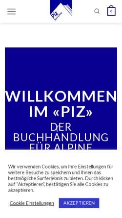 Vorschau der mobilen Webseite www.pizbube.ch, Piz Buch und Berg