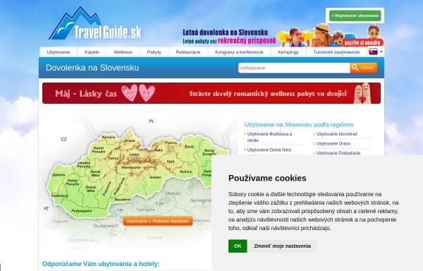 Vorschau von www.travelguide.sk, Travel-Guide