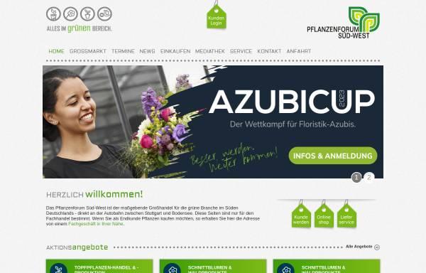 Vorschau von www.pflanzenforum.de, Pflanzenforum Süd-West