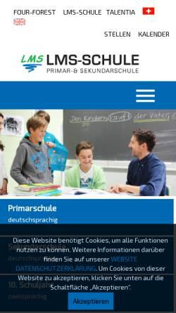 Vorschau der mobilen Webseite www.talentia.ch, Talentia - Schule für hochbegabte Kinder