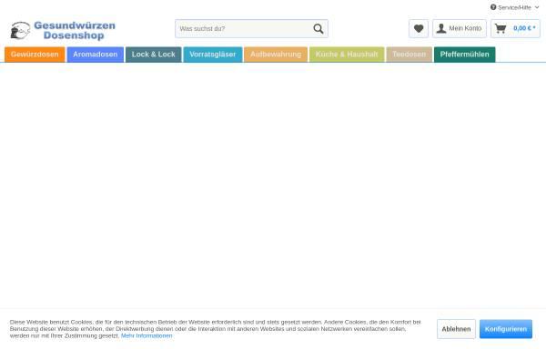 Vorschau von www.gesundwuerzen.de, Gesundwürzen, Silvia Lauss