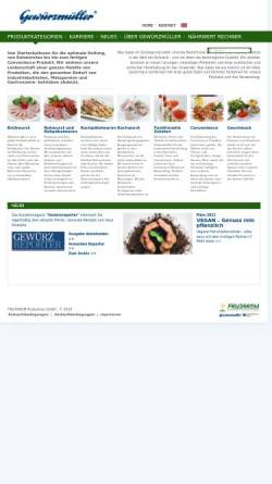 Vorschau der mobilen Webseite www.gewuerzmueller.com, Gewürzmüller GmbH