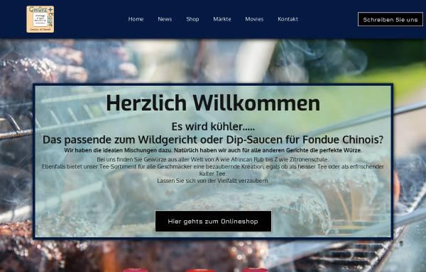 Vorschau von www.gwuerzegge.ch, Gwürzegge, Raymond Waltzer