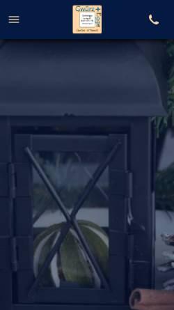 Vorschau der mobilen Webseite www.gwuerzegge.ch, Gwürzegge, Raymond Waltzer