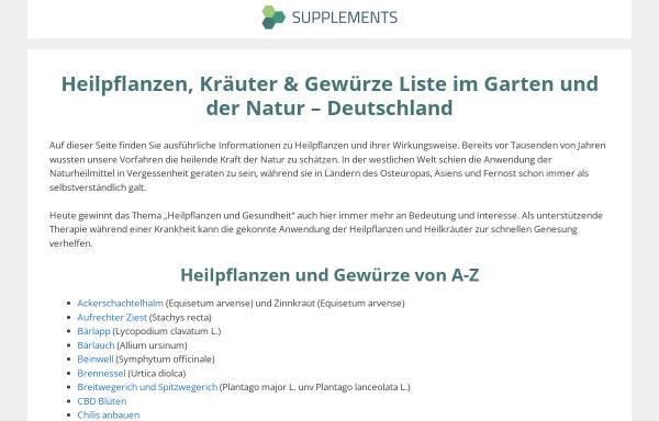 Vorschau von www.kraeuter-reich.de, Kräuter-Reich, Volker Derwah