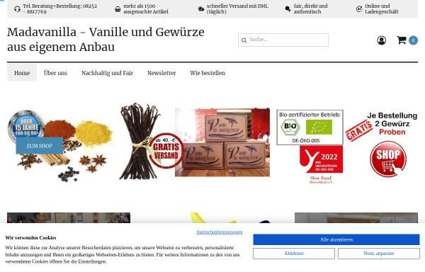 Vorschau von madavanilla.de, Madavanilla, Christian Terno