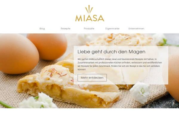 Vorschau von www.miasa.de, Miasa Deutschland, Michael Sabet