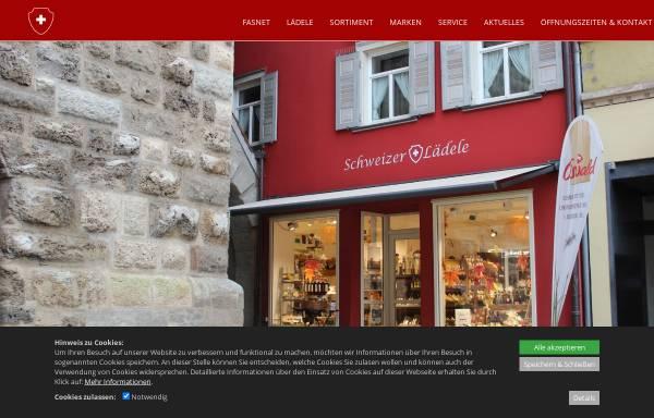 Vorschau von schweizer-laedele.de, Schweizer Lädele, Sabine Irion