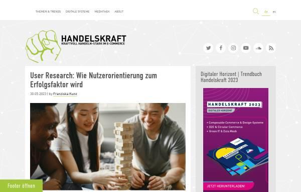 Vorschau von www.handelskraft.de, Handelskraft