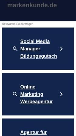 Vorschau der mobilen Webseite www.i-love-marketing.de, I-Love-Marketing.de