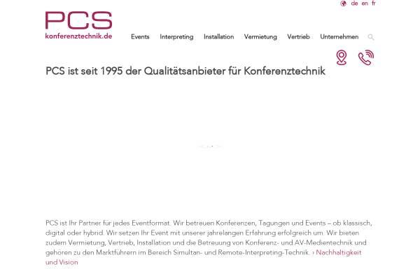 Vorschau von www.konferenztechnik.de, Plattform der Konferenztechnik
