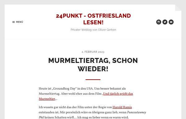 Vorschau von www.24punkt.de, Mediengestalter Blog über Werbung und Privates