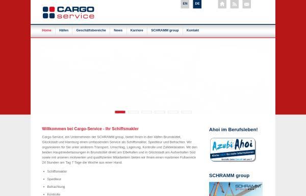 Vorschau von www.cargo-service-htk.de, Cargo-Service Hanse-Tally-Kontor GmbH