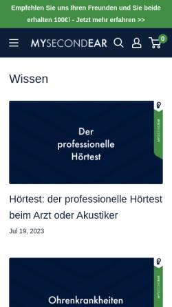 Vorschau der mobilen Webseite merchant-blog.hitflip.de, Merchant Blog