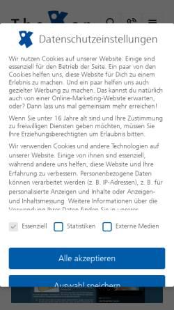 Vorschau der mobilen Webseite www.neukunden-magnet.de, Neukunden-Magnet Weblog