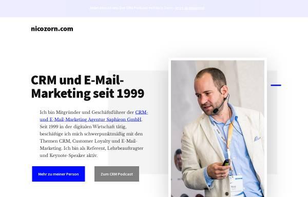 Vorschau von www.nicozorn.com, Nicozorn.com