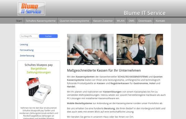 Vorschau von www.blume-it.de, Blume IT Service