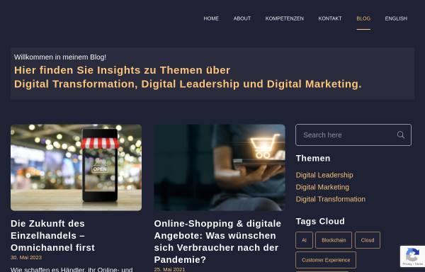 Vorschau von www.kathrinsiemokat.de, Online Marketing Blog von Kathrin Siemokat