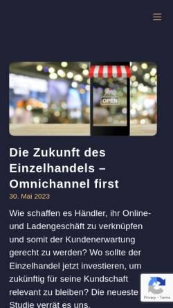 Vorschau der mobilen Webseite www.kathrinsiemokat.de, Online Marketing Blog von Kathrin Siemokat