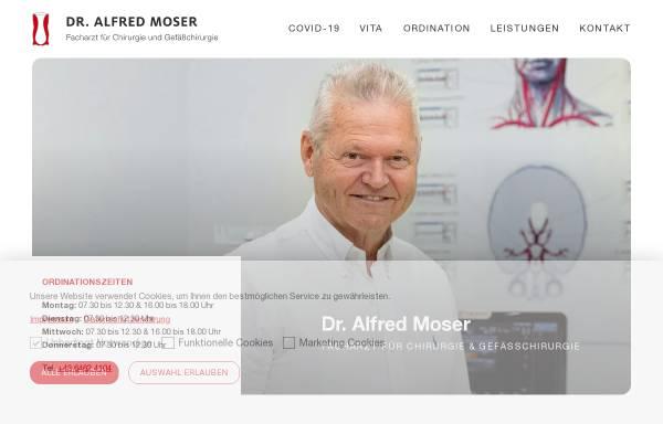 Vorschau von www.meddoc-moser.at, Meddoc Moser Dr. Alfred Moser