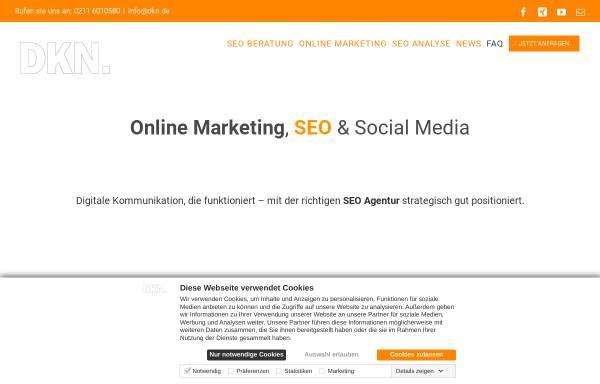 Vorschau von www.dkn.de, DKN. GmbH & Co.KG