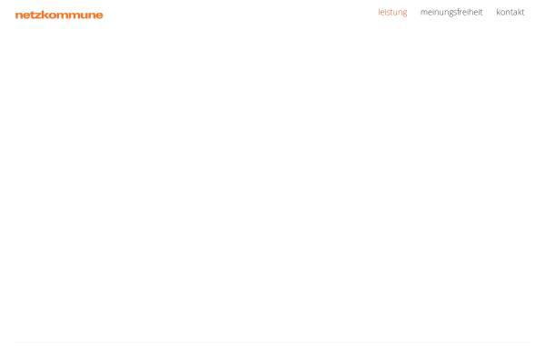 Vorschau von www.netzkommune.de, Netzkommune GmbH