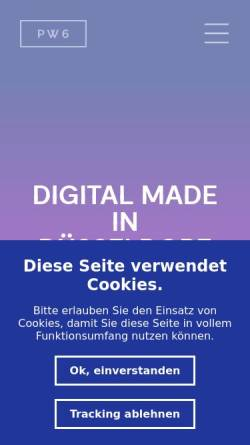 Vorschau der mobilen Webseite www.planwerk6.de, Planwerk 6, Eversmann & Vygen GbR