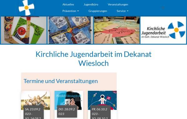 Vorschau von www.jubue-wiesloch.de, Kath.Jugendbüro Wiesloch
