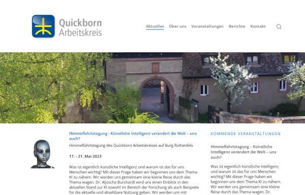 Vorschau von www.quickborn-ak.de, Quickborn-Arbeitskreis