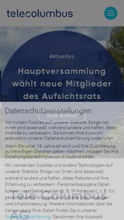 Vorschau der mobilen Webseite www.pepcom.de, Pepcom GmbH