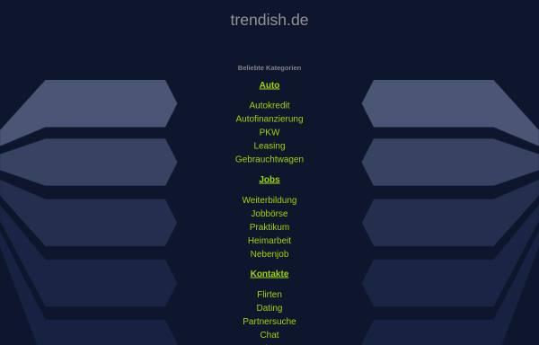 Vorschau von www.trendish.de, Trendish