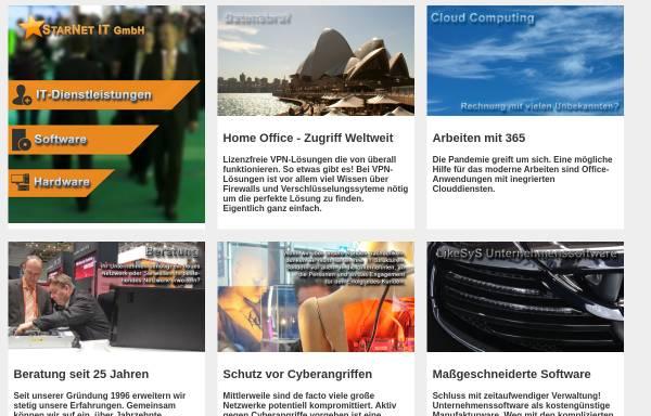 Vorschau von www.starweb.de, StarNet Informations Technologie GmbH