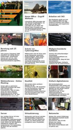 Vorschau der mobilen Webseite www.starweb.de, StarNet Informations Technologie GmbH