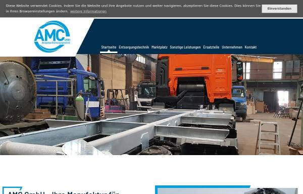 Vorschau von www.amc-guetting.de, AMC Anlagen- und Metallbau Gütting GmbH & Co. KG