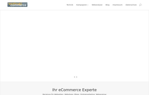 Vorschau von www.virtual-commerce.de, Virtual Commerce