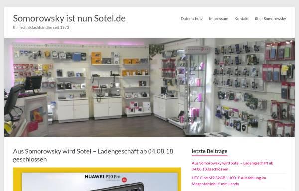 Vorschau von www.somorowsky.de, Heiko und Dieter Somorowsky GbR