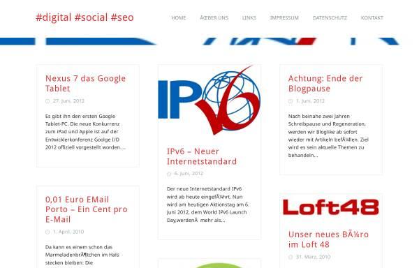 Vorschau von blog.weblike.de, WEB 2.0, SEO & Webdesign