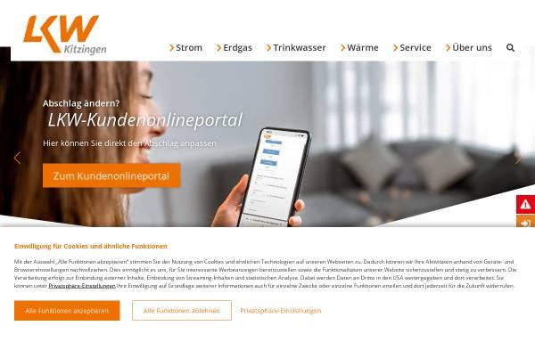 Vorschau von www.lkw-kitzingen.de, Licht-, Kraft- und Wasserwerke Kitzingen GmbH