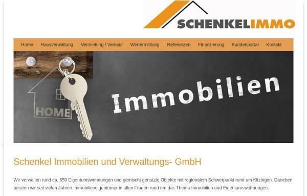 Vorschau von www.schenkel.de, Schenkel Wohnbau GmbH