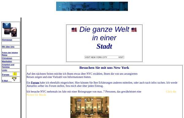 Vorschau von touristik.freepage.de, Niehaus und Pieper, Reiseveranstalter aus Hiddenhausen