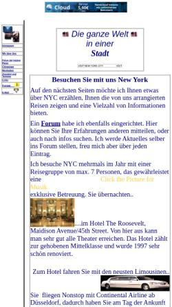 Vorschau der mobilen Webseite touristik.freepage.de, Niehaus und Pieper, Reiseveranstalter aus Hiddenhausen