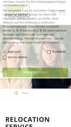 Vorschau der mobilen Webseite www.progedo.de, Progedo relocation GmbH & Co. KG