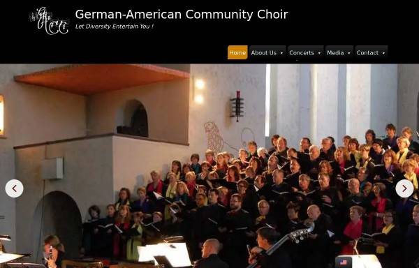 Vorschau von gacc-frankfurt.de, German-American Community Choir e.V. Frankfurt/Main