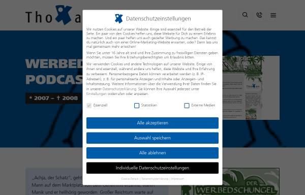 Vorschau von www.werbedschungel-podcast.de, Werbedschungel-Podcast