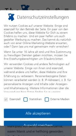 Vorschau der mobilen Webseite www.werbedschungel-podcast.de, Werbedschungel-Podcast