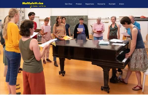 Vorschau von www.multiplevoice.ch, MultipleVoice